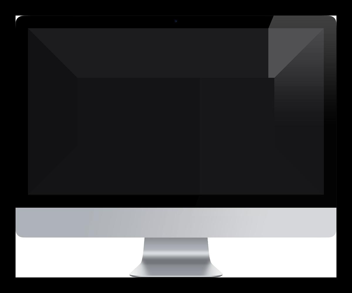 Interactive John Portfolio iMac