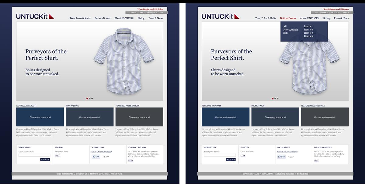 Untuckit Website Image 0