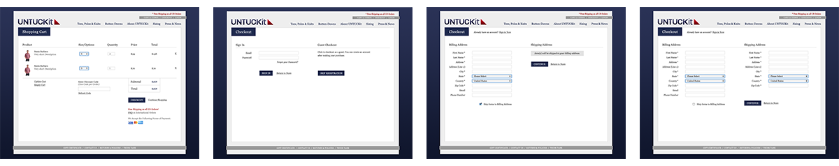 Untuckit Website Image 3